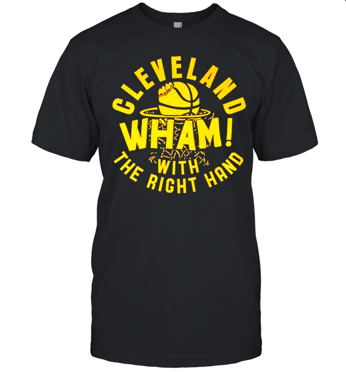 Cleveland wham with the right hand shirt Classic Men's T-shirt