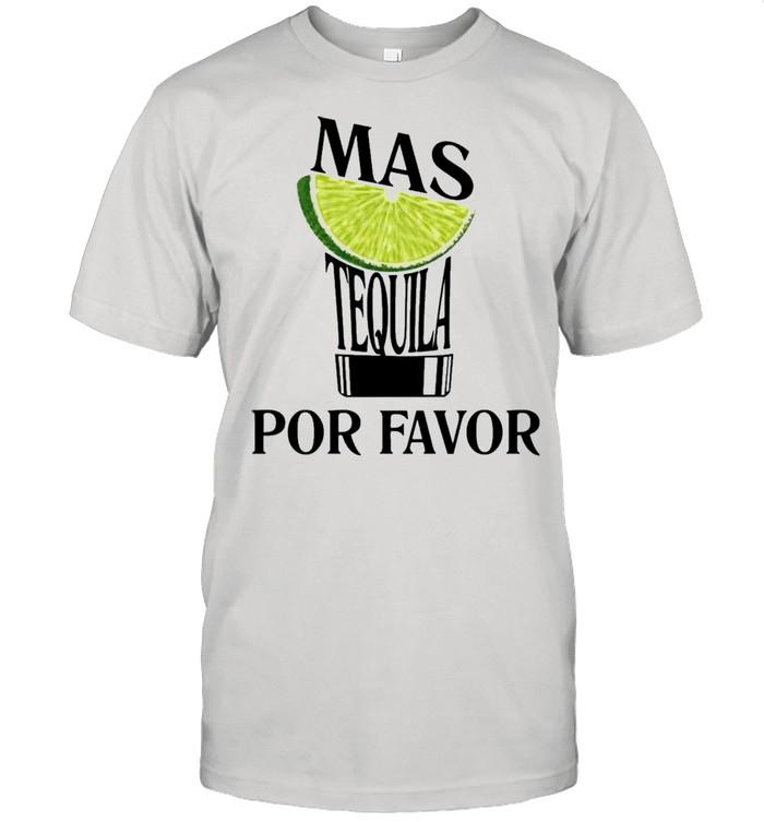 Lemon mas tequila por favor shirt Classic Men's T-shirt