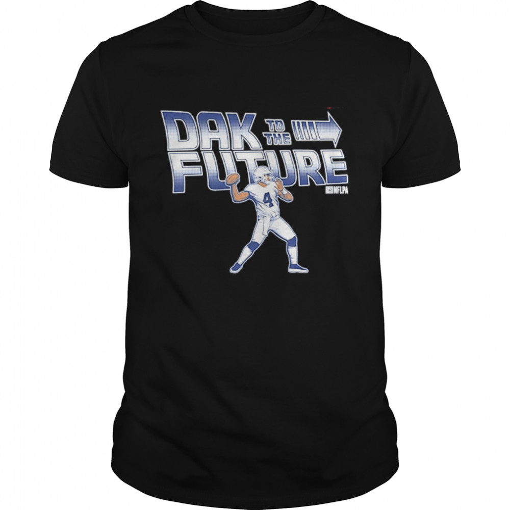 Dak Prescott Dallas Cowboys Dak To The Future shirt Classic Men's T-shirt