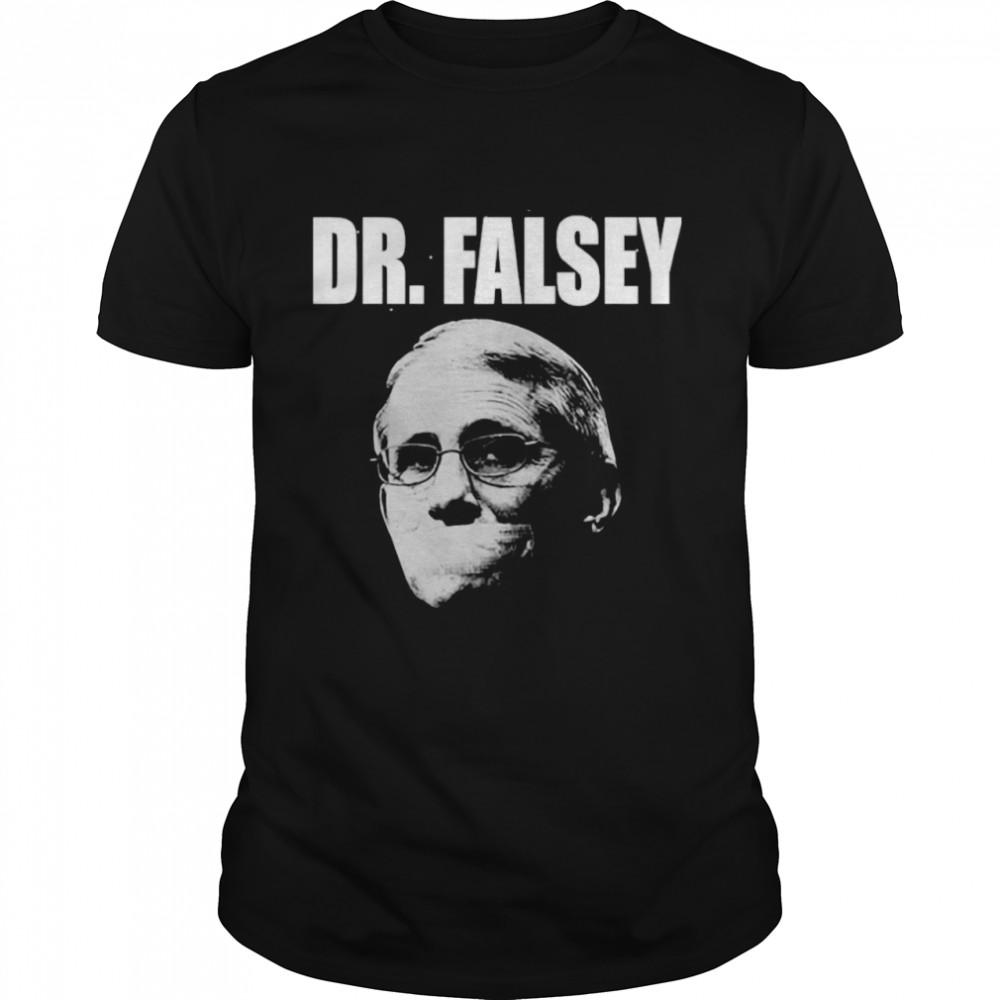 Anthony Fauci Dr Falsey Face Mask  Classic Men's T-shirt