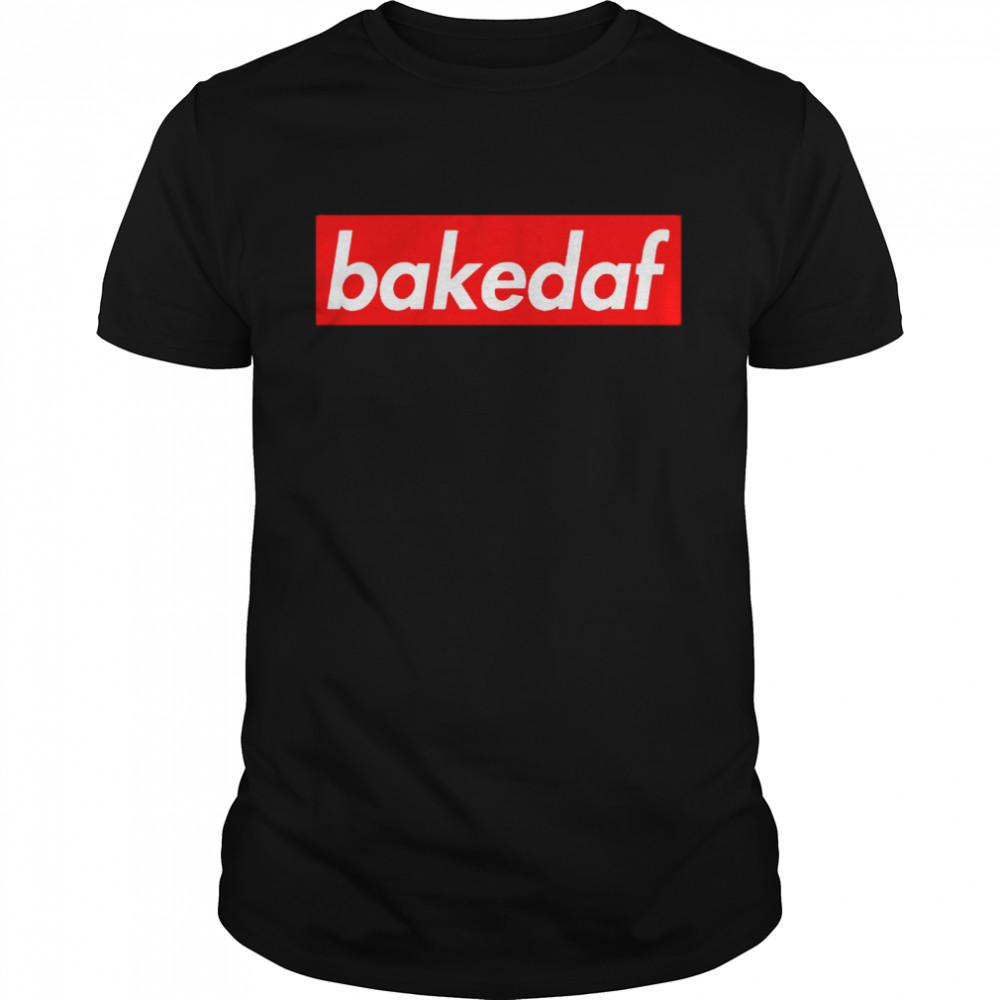 Bakedaf Logo shirt Classic Men's T-shirt