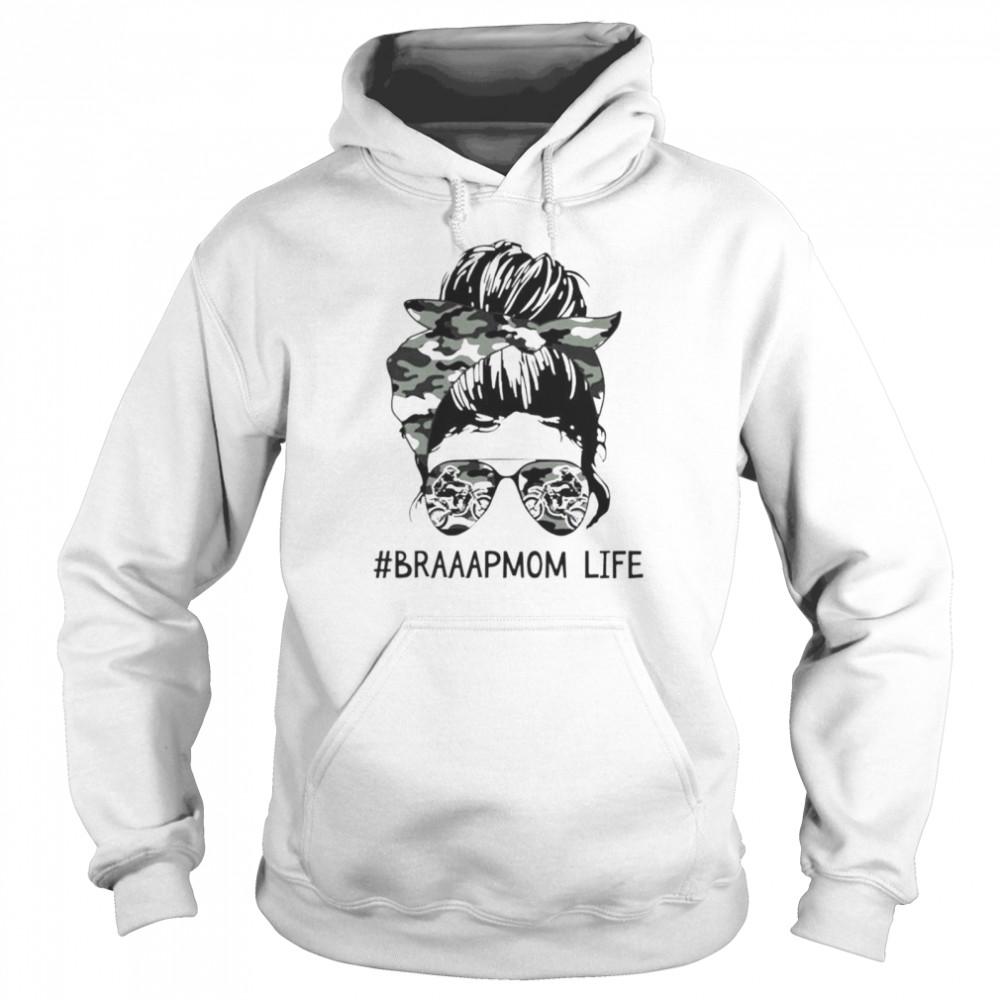 girl braaapmom life shirt unisex hoodie