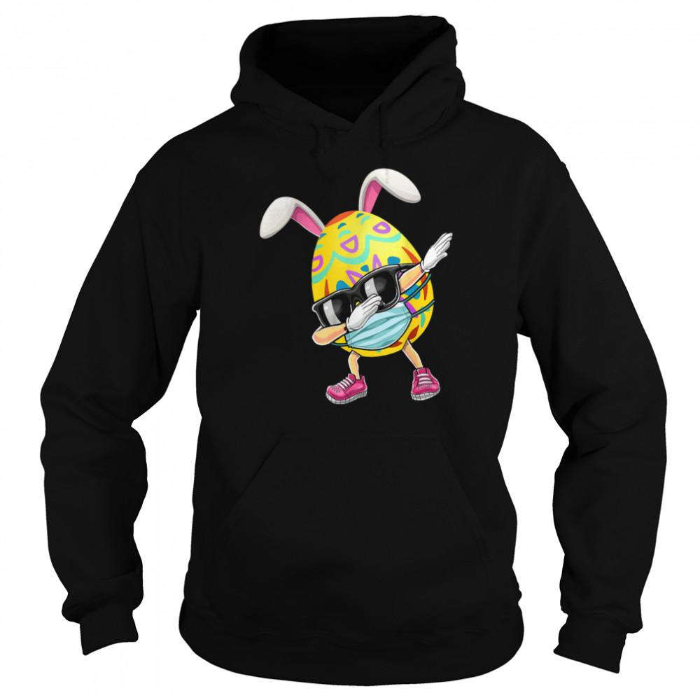 dabbing easter egg boys girls hunter hunting dab unisex hoodie