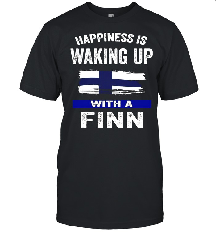 Happiness Is Waking Up With A Finn T-shirt Classic Men's T-shirt