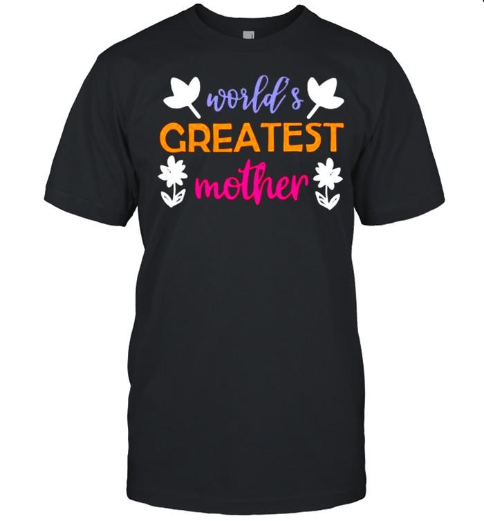 World's greatest mother shirt Classic Men's T-shirt