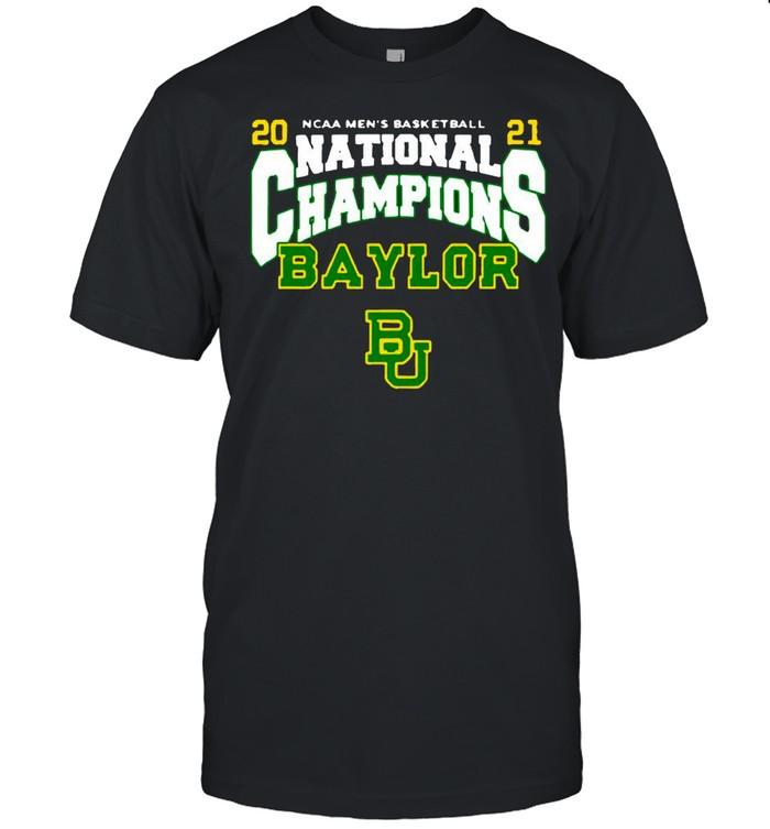 BU Baylor Bears 2021 NCAA Men's Basketball National Champions Posterize Bracket shirt Classic Men's T-shirt