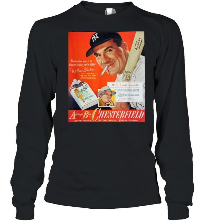 Chesterfield Football Club New York Yankees  Long Sleeved T-shirt