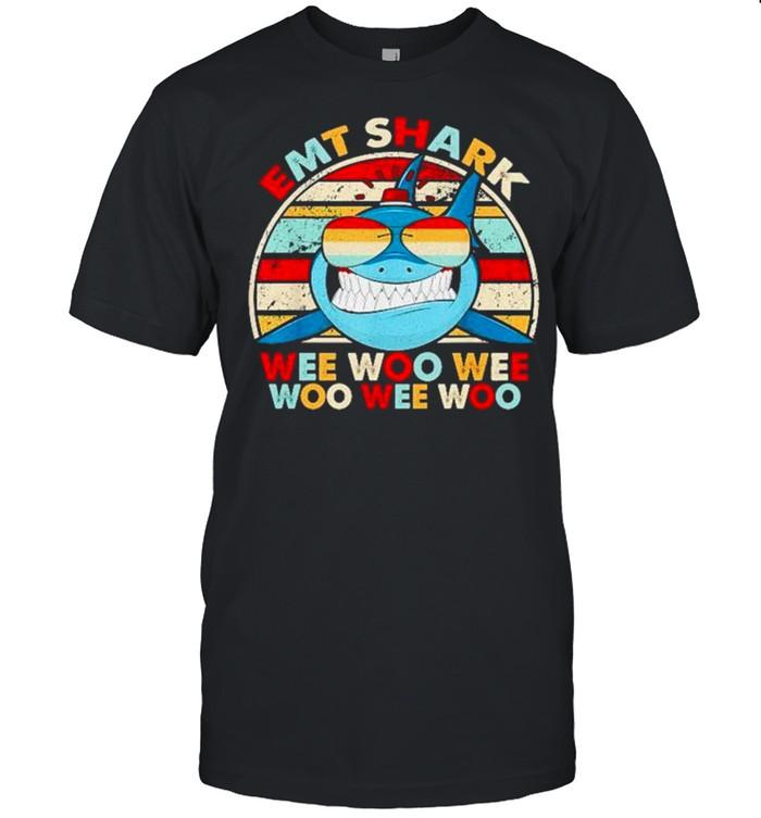 EMT Shark wee woo wee woo wee woo shirt Classic Men's T-shirt