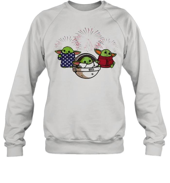 baby yoda star wars unisex sweatshirt