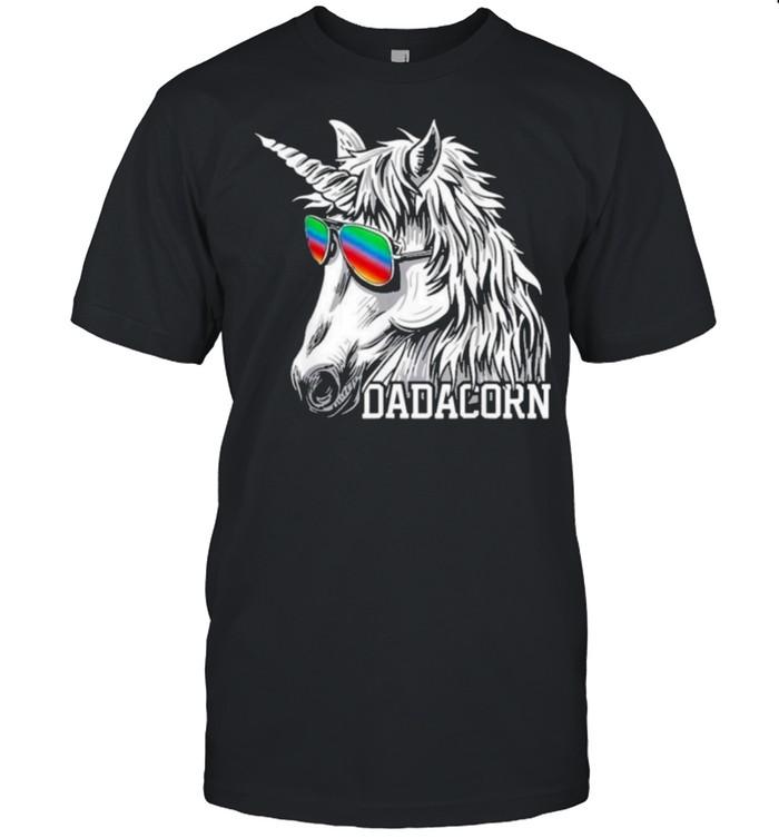 Unicorn Fathers Day t-shirt Classic Men's T-shirt