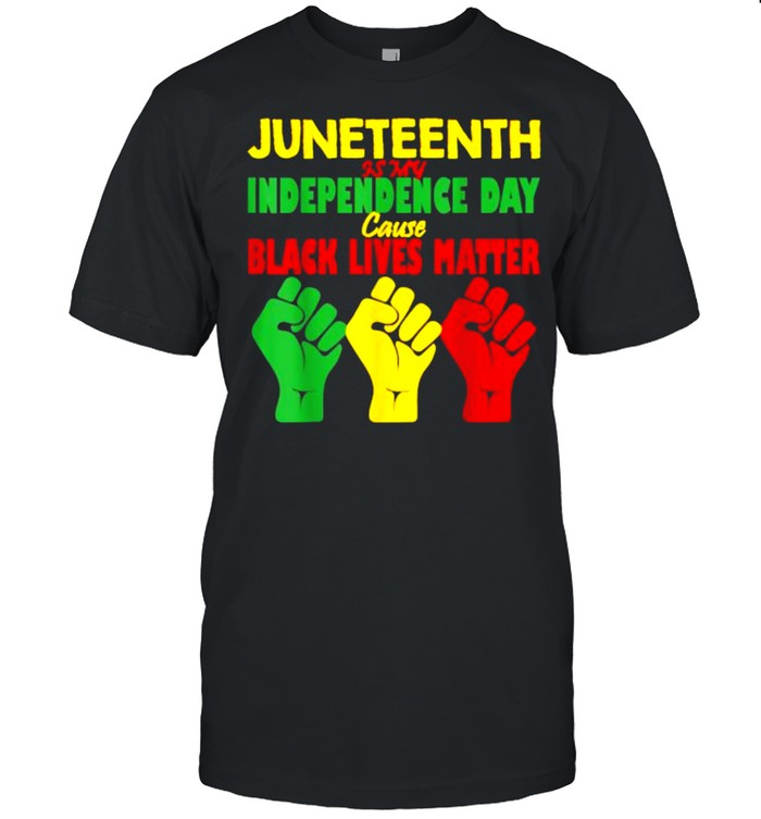 Juneteenth 06 19 Is My Independence Free Black lives Matter T- Classic Men's T-shirt