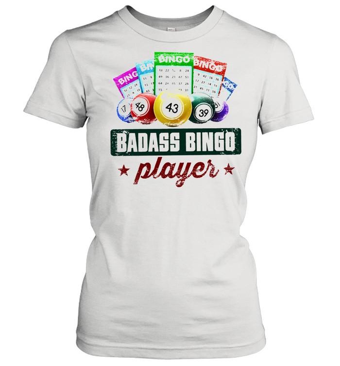 badass bingo player t shirt classic womens t shirt
