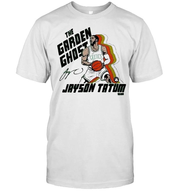The Garden Ghost Jayson Tatum Slam shirt Classic Men's T-shirt