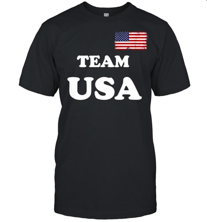 Team USA 2021 Flag Summer Olympics  Classic Men's T-shirt