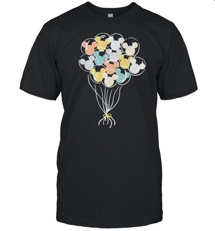 Balloon Mickey  Classic Men's T-shirt