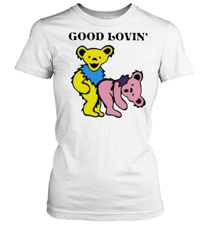 good loving bear classic womens t shirt