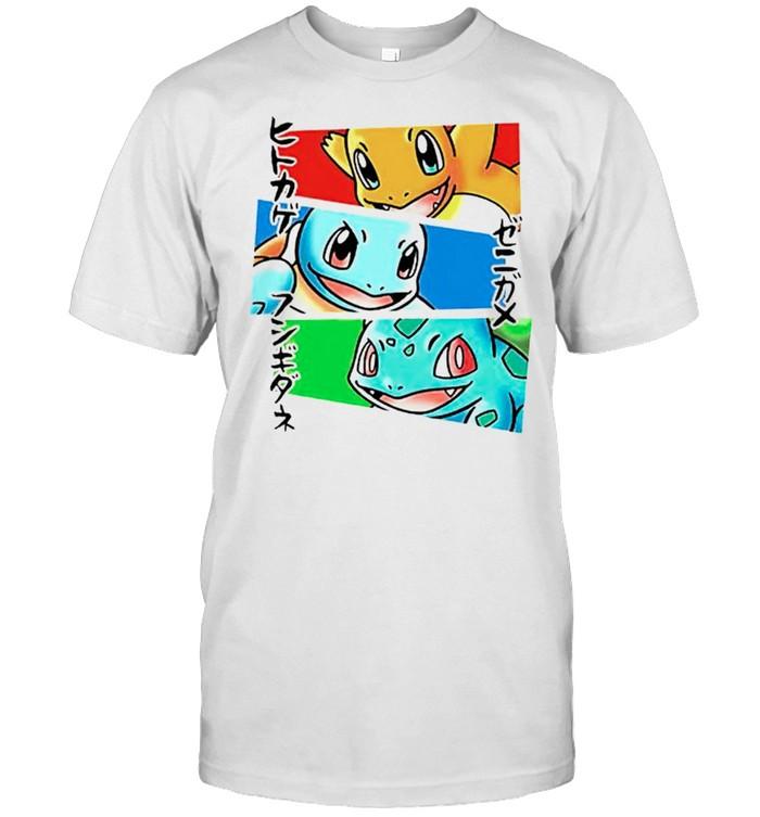 Kanto Japanese Pokemon shirt Classic Men's T-shirt