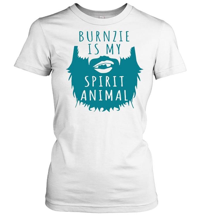 Burnzie Is My Spirit Animal T-shirt Classic Women's T-shirt