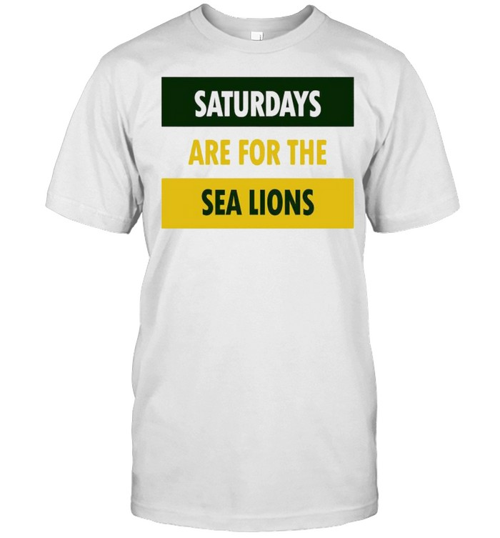 Saturdays are for the sea lions shirt Classic Men's T-shirt