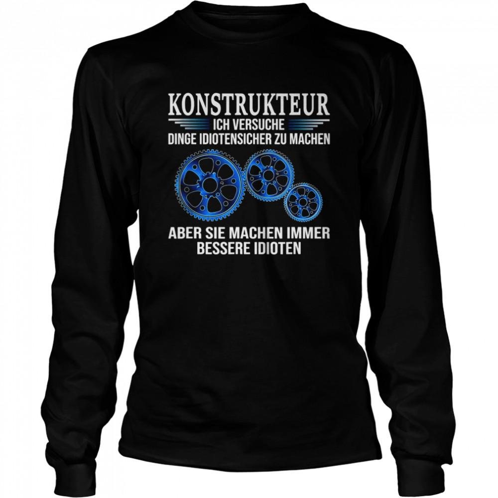 Design Engineer shirt Long Sleeved T-shirt