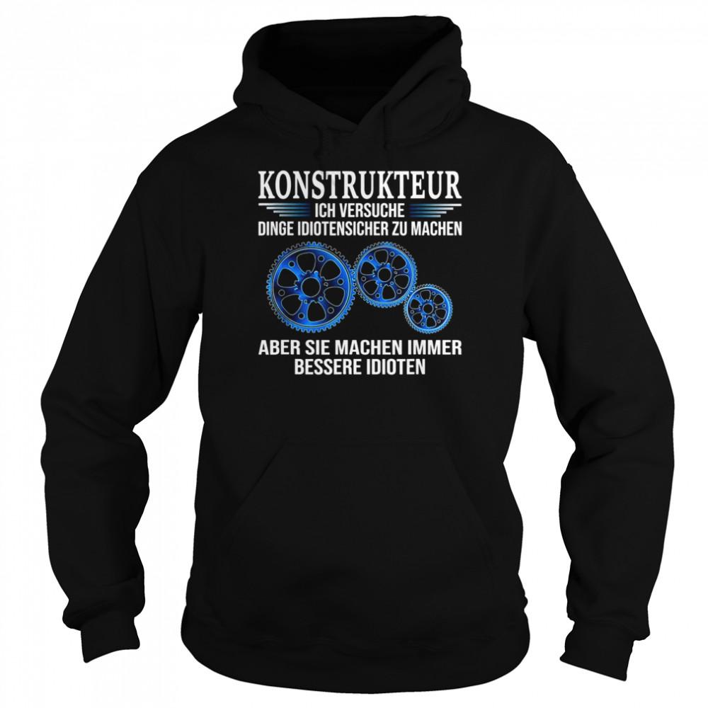 Design Engineer shirt Unisex Hoodie