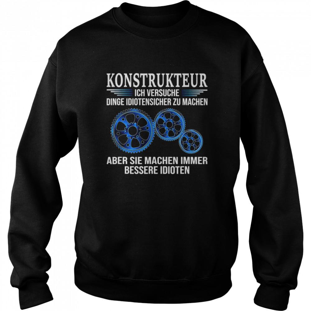 Design Engineer shirt Unisex Sweatshirt