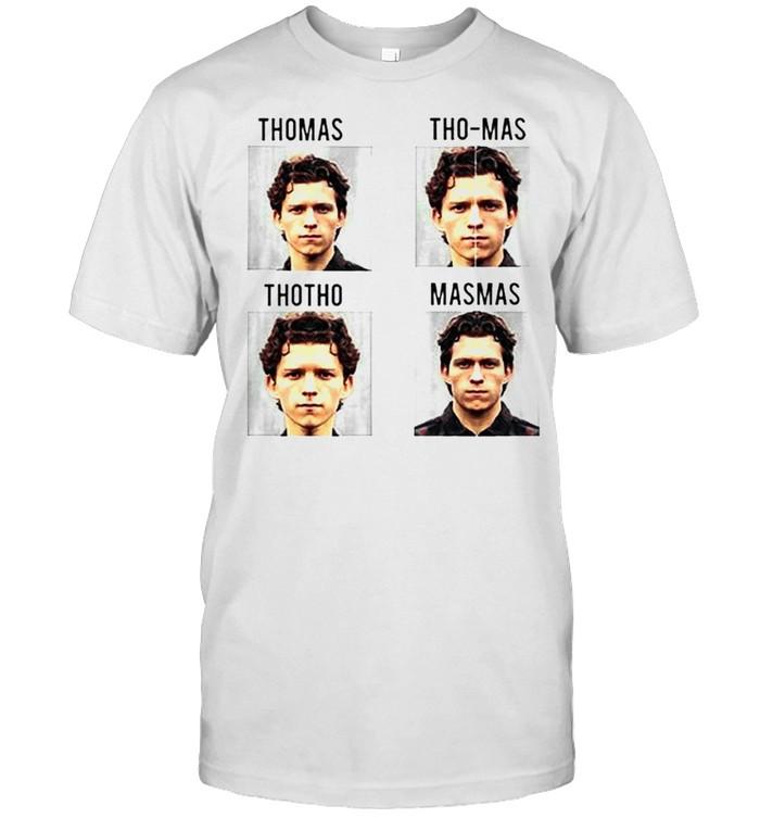 Tom Holland Thomas Tho-Mas Thotho Masmas shirt Classic Men's T-shirt