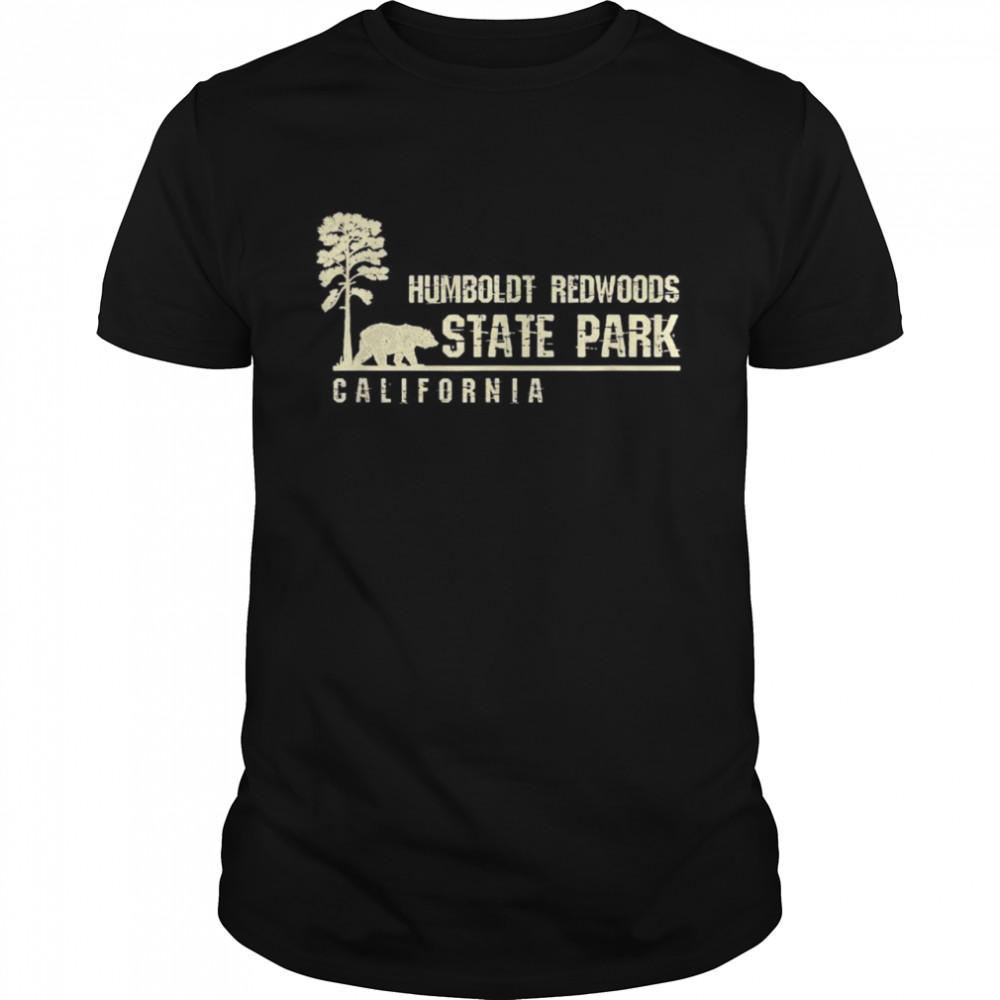 California Souvenir Geschenk für Humboldt Redwoods State Park  Classic Men's T-shirt