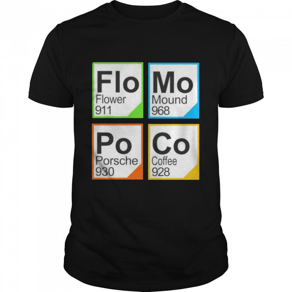 Flo Mo Po Co 911 shirt Classic Men's T-shirt