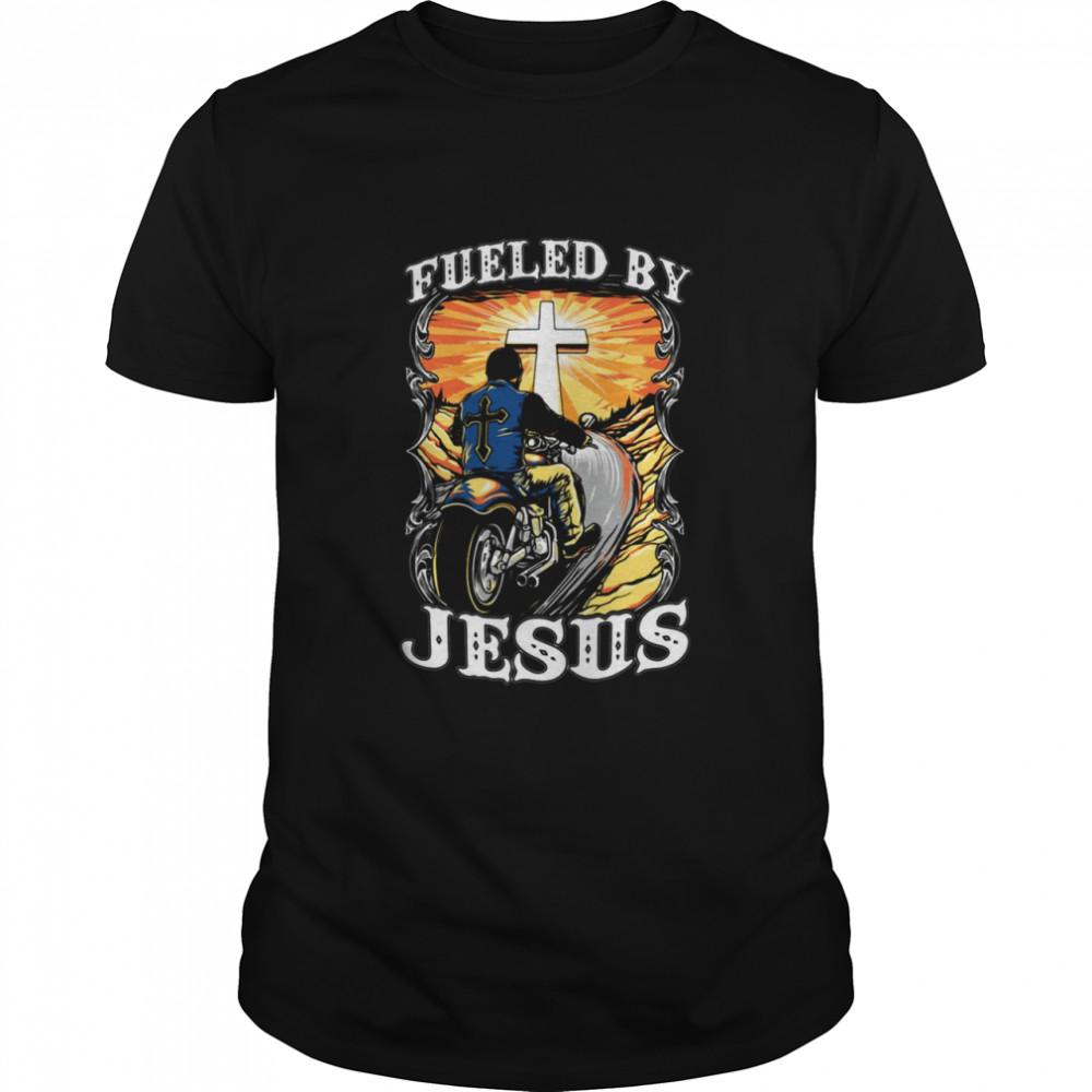 Fueled By Jesus Motor T-shirt Classic Men's T-shirt