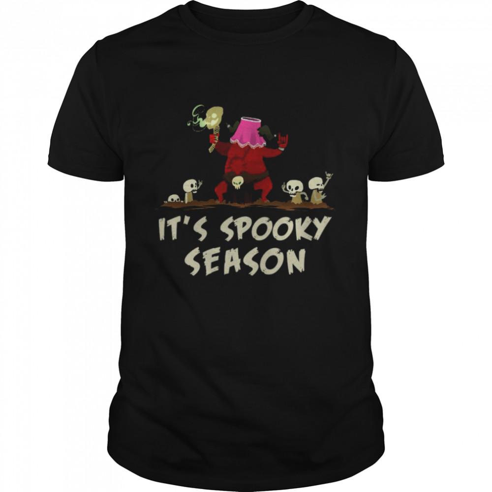 Halloween Skull It's Spooky Season'Skeleton T-shirt Classic Men's T-shirt