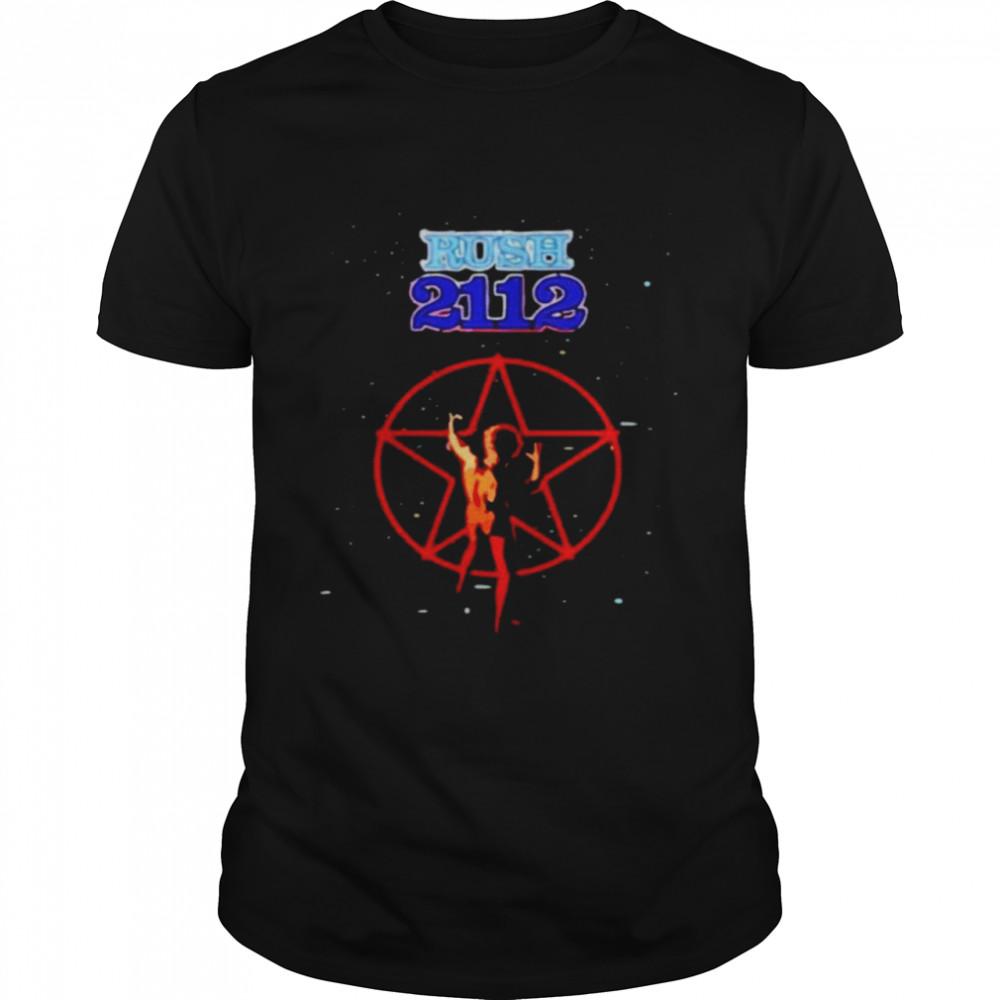 Rush 2112 Starman shirt Classic Men's T-shirt
