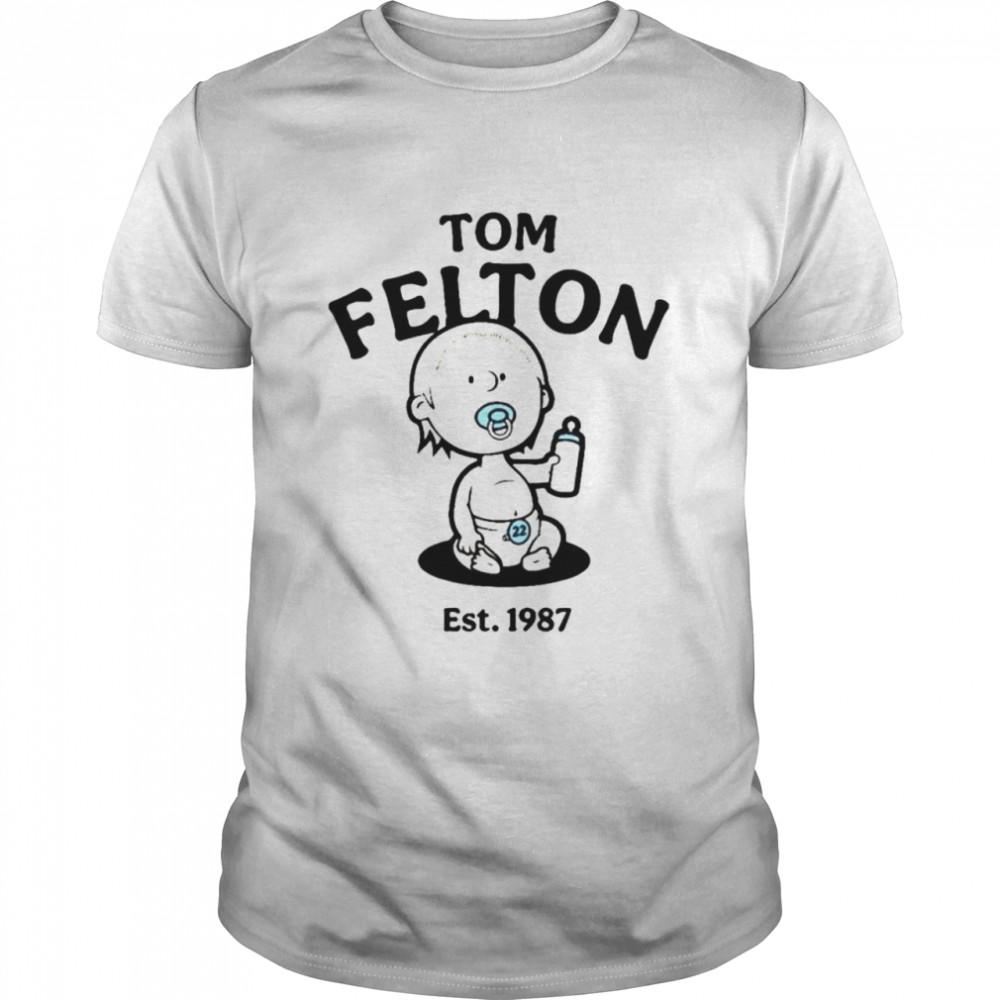 Tom Felton est 1987 shirt Classic Men's T-shirt