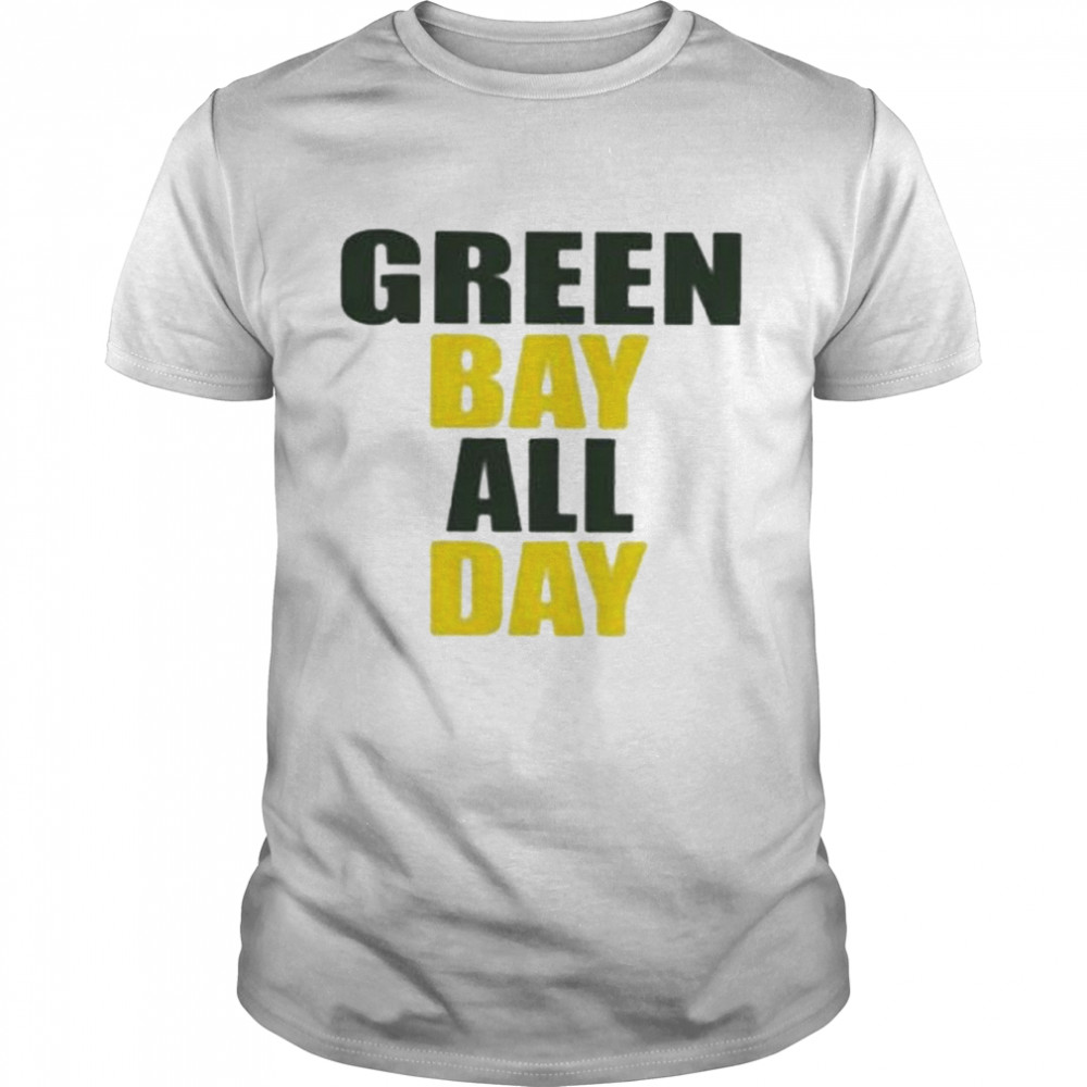 Awesome green Bay All Day  Classic Men's T-shirt