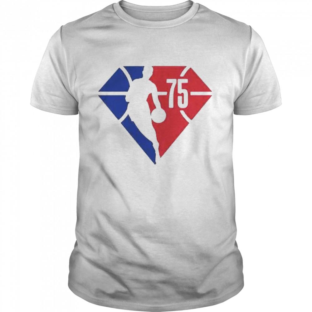 The 75th Anniversary NBA shirt Classic Men's T-shirt